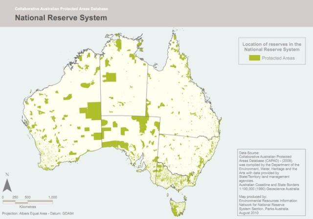 Australia's National Reserve System